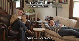 Therapy Bro Banner by Open Iris Entertainment