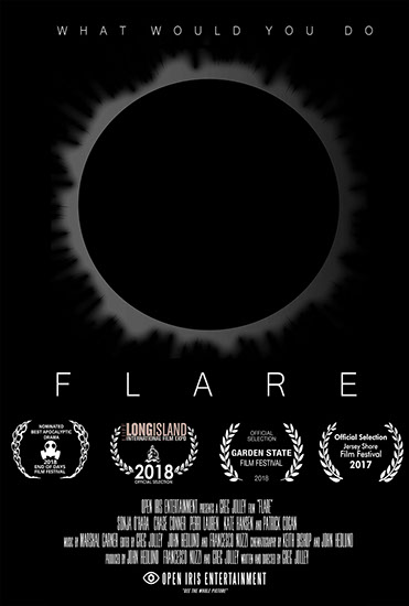 Flare Film Poster by Open Iris Entertainment