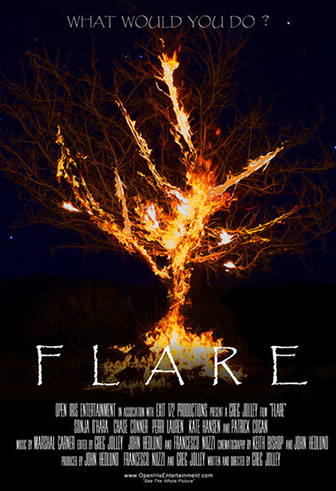 Flare Poster by Open Iris Entertainment