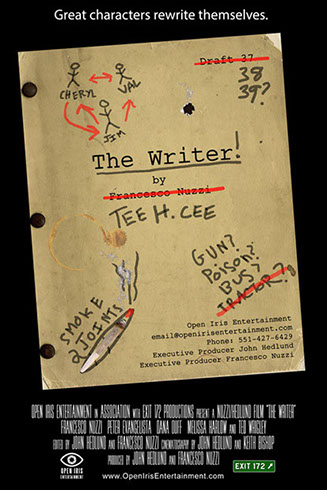 The Writer Movie Poster by Open Iris Entertainment